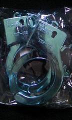 手錠 ブルーメタリック〓