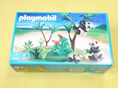 playmobil★3241 パンダの家族 プレイモービル