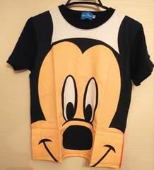 ミッキービッグフェイスTシャツ男女兼用150cmディズニー