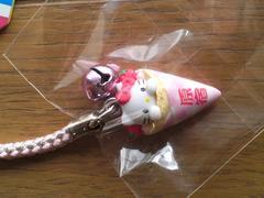 Hello Kitty☆東京限定 クレープバージョン根付け