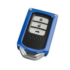 ホンダ用スマートキーカバー770ブルーガッシリとした保護性