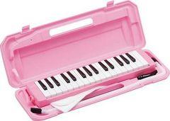 鍵盤ハーモニカ メロディピアノP3001-32K ピンク
