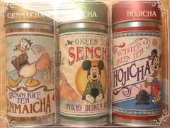 ディズニー*日本茶セット*ミッキー*ミニー*缶のみ