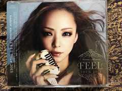 安室奈美恵 FEEL TOUR 2013 DVD付き 3枚組 非売品レンタル限定盤