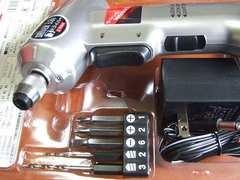 E-Value充電ドライバー&電動ドリル3.6V/ライト付/EL-330HB/新品