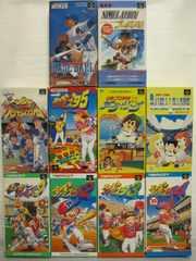 SFC☆スーパーファミスタ1〜5+野球ゲーム全10本セット☆