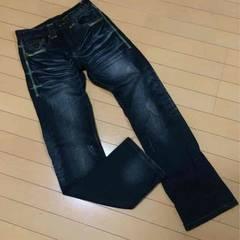 新品◆デザインデニムジーンズ◆W76
