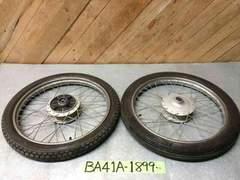 ☆ BA41A スズキ バーディー50 Birdie 前後 タイヤ ホイール