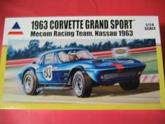アキュレイト 1/24 コルベット グランドスポーツ Mecom Racing Team,Nassau 1963