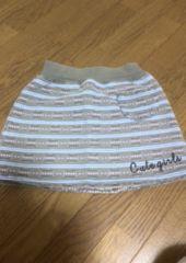 かわいいボーダースカート♪110�p