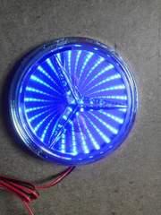 3Dエンブレムベンツ95ミリ  青