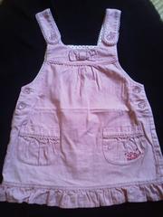 シャーリーテンプルLuluルル110サイズピンクジャンパースカート