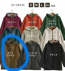 新品★キルティングジャケット★カフェブラウン