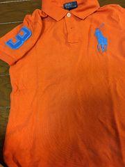 ラルフローレン 6歳 半袖ポロシャツ オレンジ