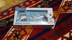 PEANUTS TABLE CLOCK(ブルー)!