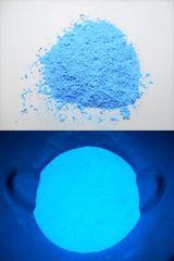 605.夜光パウダー.�Dブルー色.蓄光・粉末タイプ.3g