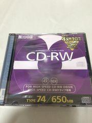 リコー ricoh cd-rw 650mb 日本製 新品