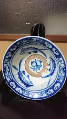 江戸初期…古伊万里焼→呉須染付→魚桃図鉢