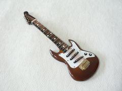エレキギターのミニチュア ◆ 送料無料!