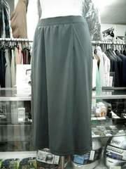 ★未使用品ひょうプリントのセミロングスカート