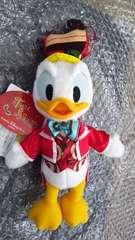 ディズニー TDS テーブル・イズ・ウェイティング クリスマス ぬいぐるみバッジ ドナルド