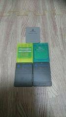 PS PS2 メモリーカード 5枚