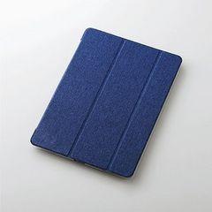 ★ELECOM 10.5インチiPad モデルフラップカバー ブルー