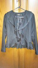 とっても素敵なジャケット☆フォーマルOK☆黒☆