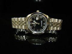 新品★腕時計 シルバー カレンダー付/デイトジャスト好きに