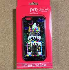 新品♪即決 DFD iPhone6/6s用 3Dお菓子の城night