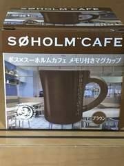 新品★ボス/メモリ付きマグカップ全�B種ブラウン¥100スタ