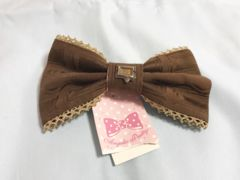AngelicPretty Melty Royal Chocolate  バレッタ ブラウン