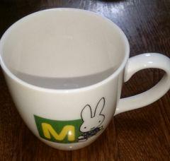 中古ミッフィーマグカップ M