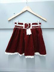 Ank Rouge☆ベロアスカート