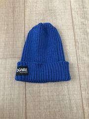 新品未使用サマーニット帽48〜52男女OKブルー青