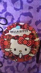 キティ可愛いメラミンプレート☆レッド☆リボン☆ラメ☆新品未使用