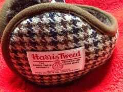 Harris Tweed ハリスツイード 耳あて イヤーパッド 新品未使用品
