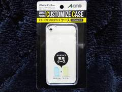 iPhone4/4S専用 クリアーハードケース 高級素材ポリカーボネート