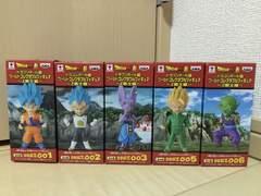 ドラゴンボール超 コレクタブルフィギュア Z戦士編 5種セット
