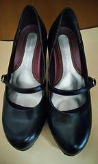 女性用靴☆22.5�p☆黒