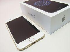Docomo iPhone 6 16GBゴールド美品白ロム