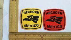 NO.124 アイロンワッペン MEXICO