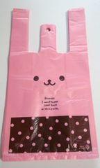 即決!キュートレジバッグ★ウサコ30枚☆ウサクマ可愛いレジ袋