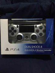 新品 デュアルショック4 シルバー PS4 コントローラー