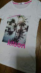 ☆Kitson☆リゾート柄Tシャツ☆
