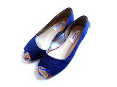 新品 CREST O'PAS リバティ パンプス 靴 オープントゥ 23cm