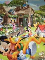 2018 ディズニー ミッキーマウス 壁掛けカレンダー《未使用》