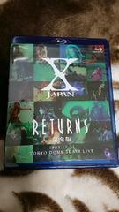 ほぼ新品未使用 X JAPAN RETURNS 完全版 1993.12.31 [Blu-ray]
