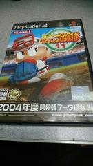 PS2!完品!実況パワフルプロ野球11!のソフト!