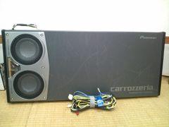 カロッツェリア TS-WX1600A アンプ内蔵サブウーファー 東北〜関西まで送料込み
